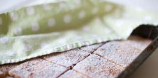 Farmors snabba sockerkaka i långpanna