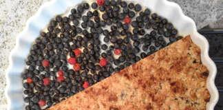 blåbärs paj familjerecept enkel och god