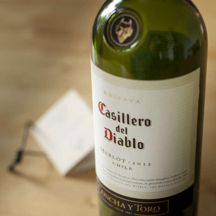 Gott rödvin till mat - Casillero del diablo