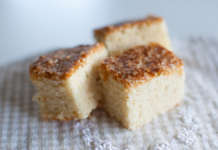 Mjuk kardemumma kaka i långpanna eller form
