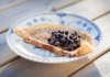 Recept på Pannkakor med vaniljsmak stekta i smör