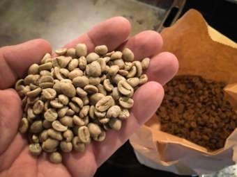 Köp råkaffe när du skall rosta kaffe själv