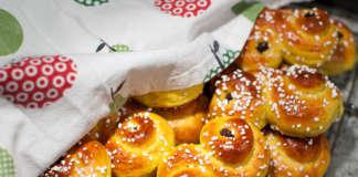 Lussekatter en julklassiker med saffran, russin och Cointreau